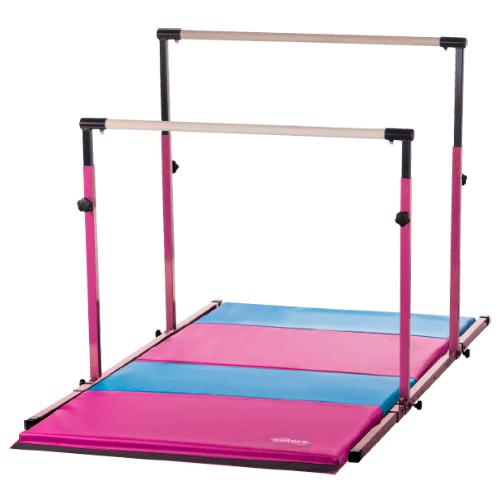 Gymnastics Balance Beam And Mat Combo