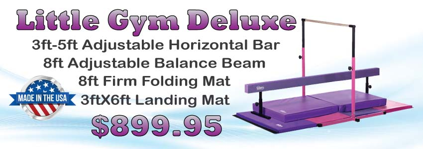 f5e04858d795 3play gymnastics balance beam and folding mat with horizontal bar